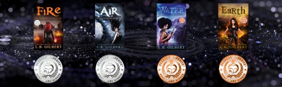 Every book in the series is a Readers' Favorite Medal Winner!