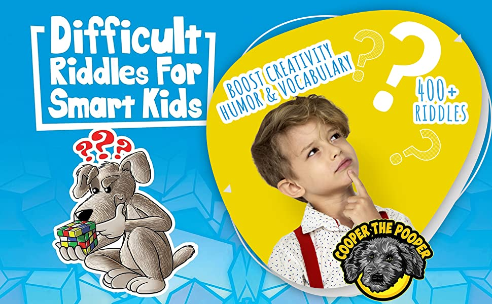 difficult riddles for smart kids, difficult riddles for smart kids book, riddles with answers