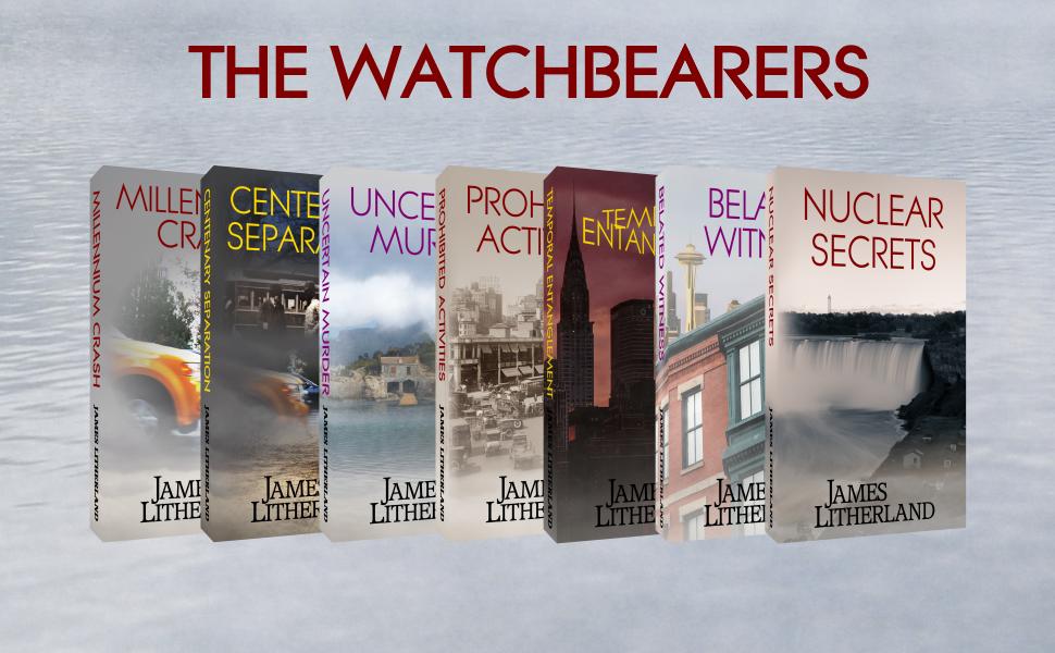 watchbearers books covers