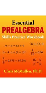 Picture of Essential Prealgebra Skills Practice Workbook