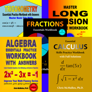 Chris McMullen Math Workbooks