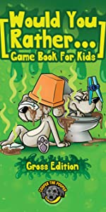Would You Rather Game Book for Kids (Gross Edition)