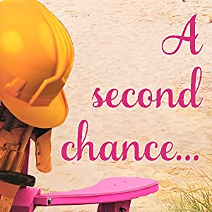 Hard hat on beach with words a second chance...
