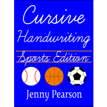 Picture of Cursive Handwriting Sports Edition