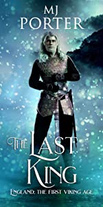 The Last King Cover - a warrior with a sword