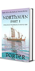 Northman Part 1 cover showing a Viking ship