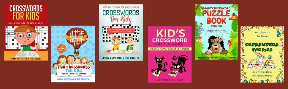Crosswords for Kids: Best 8 and Up