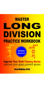 Picture of Master Long Division Practice Workbook