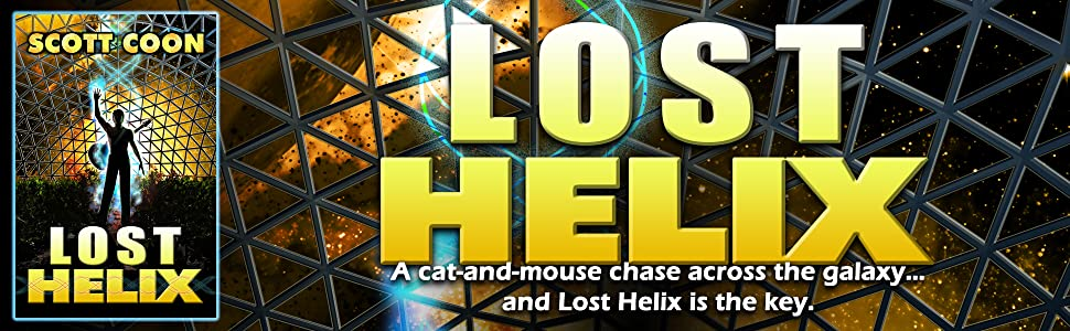A cat-and-mouse chase across the galaxy...and Lost Helix is the key.