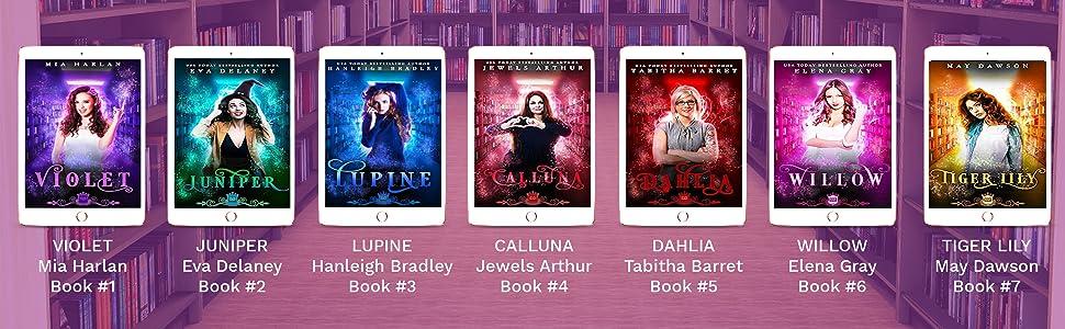 Spell Library Series - 13 books: Violet, Juniper, Lupine, Calluna, Dahlia, Willow, Tiger Lily etc.