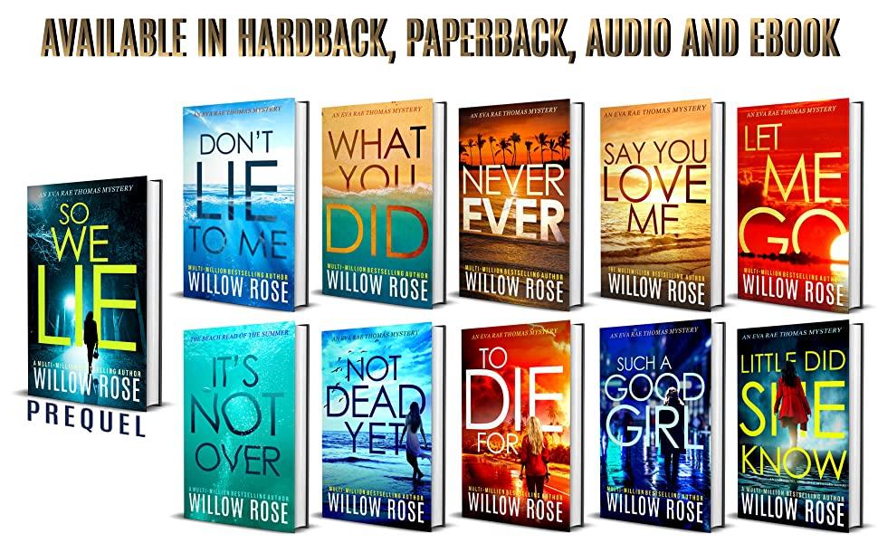 All 10 Eva Rae Thomas Mystery Novels