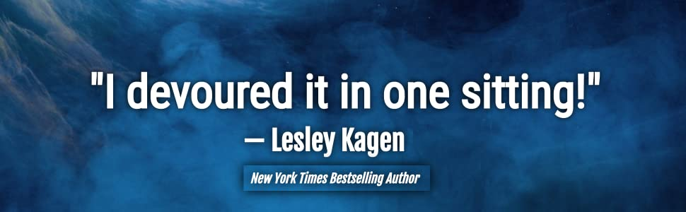 """Quote from Lesley Kagen: """"I devoured it in one sitting!"""""""