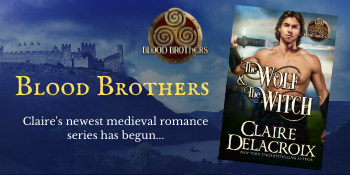 Blood Brothers, a series of medieval Scottish romances by Claire Delacroix