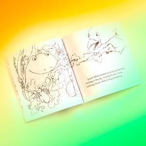 frog book, coloring book, toddler coloring book, kids coloring book, children's coloring book