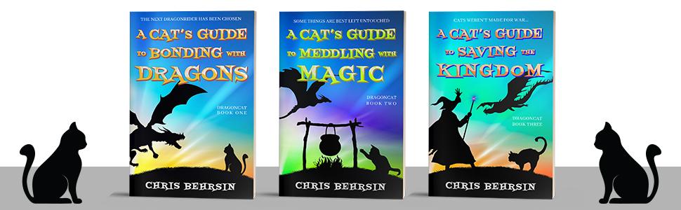 Trilogy Dragoncat Cat Bonding Dragons Saving Kingdom Meddling Magic