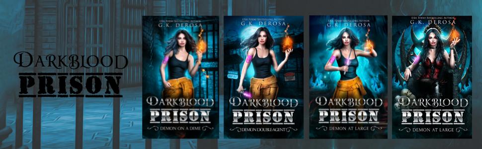 Darkblood Prison series