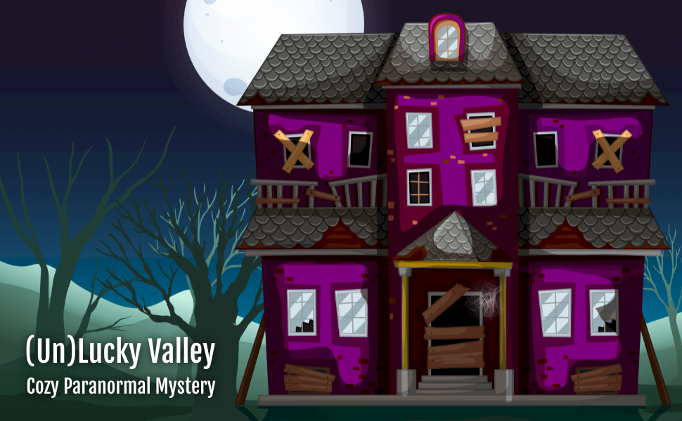 cozy mystery, female sleuth, amateur, animal, paranormal, witch, gnome, magic, unlucky valley