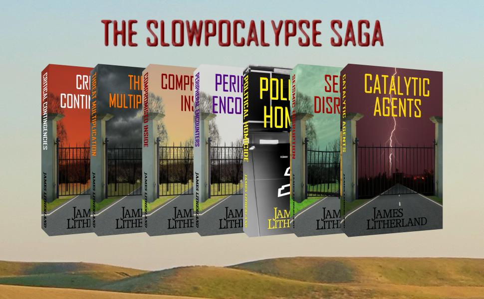 slowpocalypse book covers