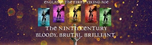 Five covers of The Ninth Century series