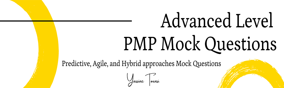 Advanced Level PMP Mock Questions book banner