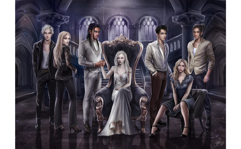 Saga NATIVE romance fantastique paranormale fantasy urban new adult