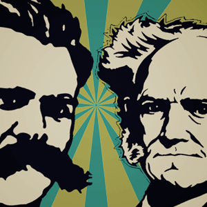 filosofia alemã, Friedrich Nietzsche, Arthur Schopenhauer