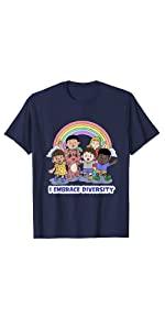 I Embrace Diversity - Brag t-shirt