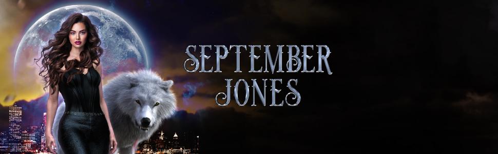 September Jones et loup-garou Kyle