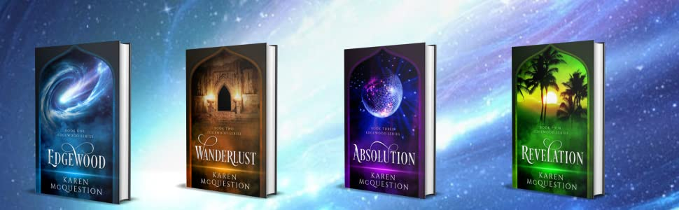 All four books in the Edgewood Series