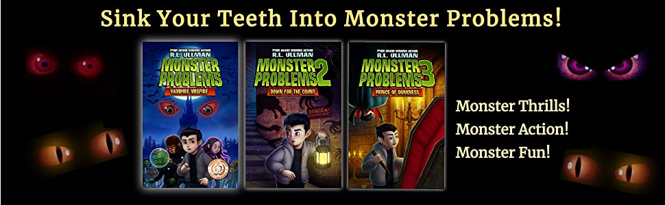 Monster Problems Series Banner