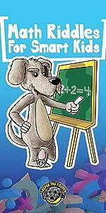 Math riddles for smart kids
