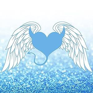 Wings over glitter