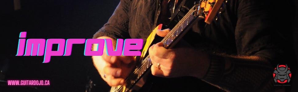 improve guitar, musicianship, groove, feel, musicality, guitardojo