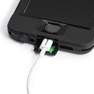 AmazonBasics Lightning Cable and Case