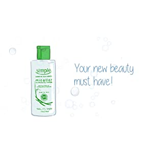 Simple Cleansing Water - Your new beauty must have