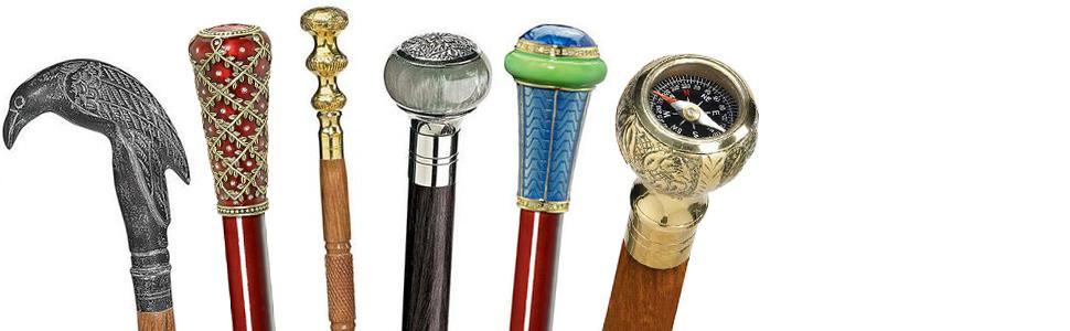 decorative walking sticks, canes