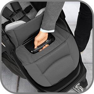 Amazon Com Chicco Bravo Le Quick Fold Stroller Coal Baby