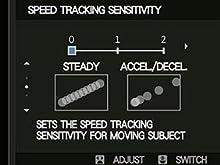 Speed Tracking Sensitivity