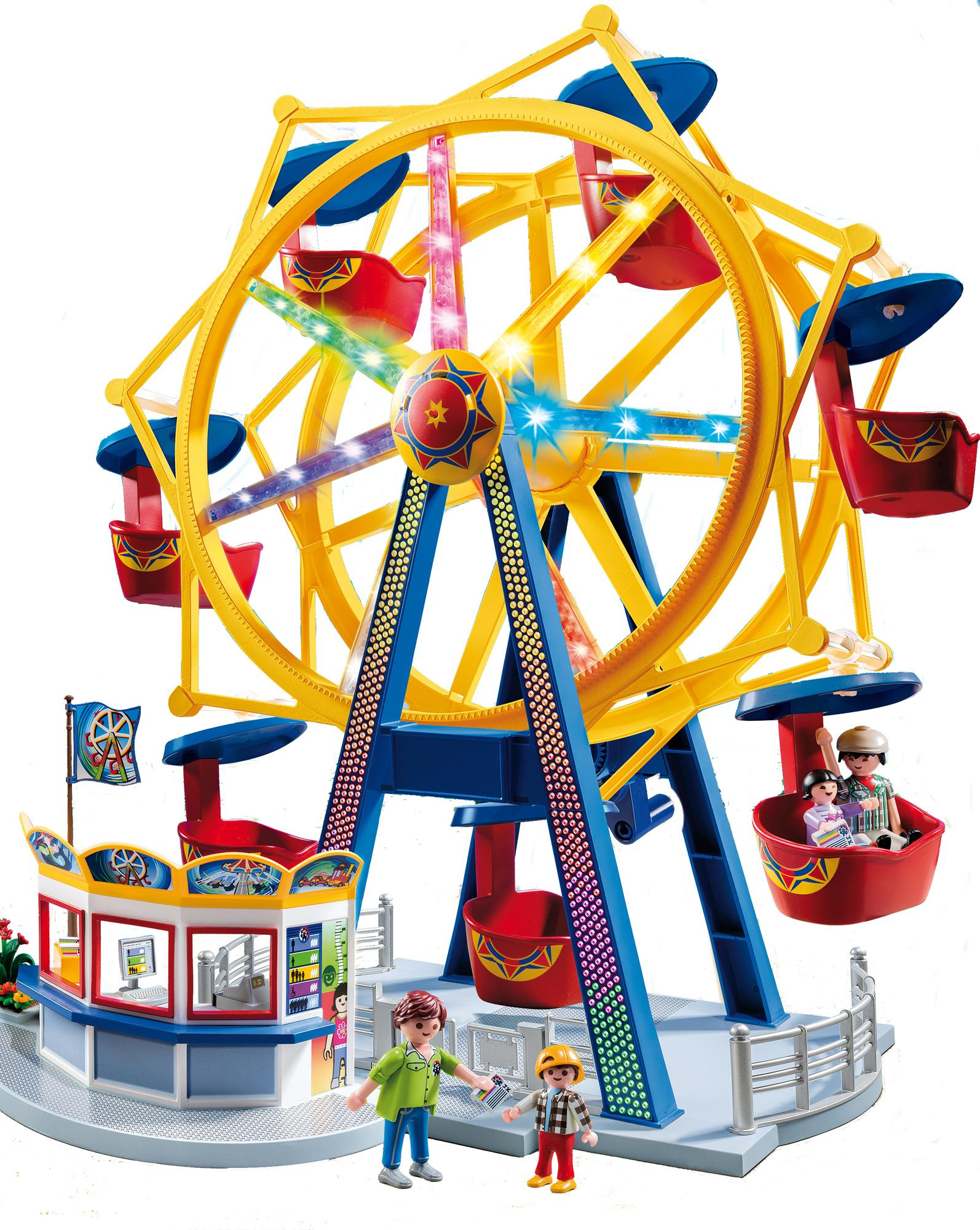 Playmobil 5552 Ferris Wheel with Lights Brand New