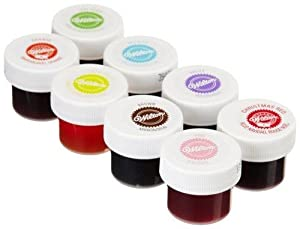 Wilton Set of 8 Icing Colors: Amazon.in: Grocery & Gourmet Foods