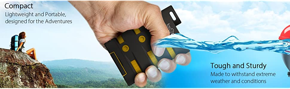 power bank powerbank external portable battery charger camping gears tool charging kit waterproof