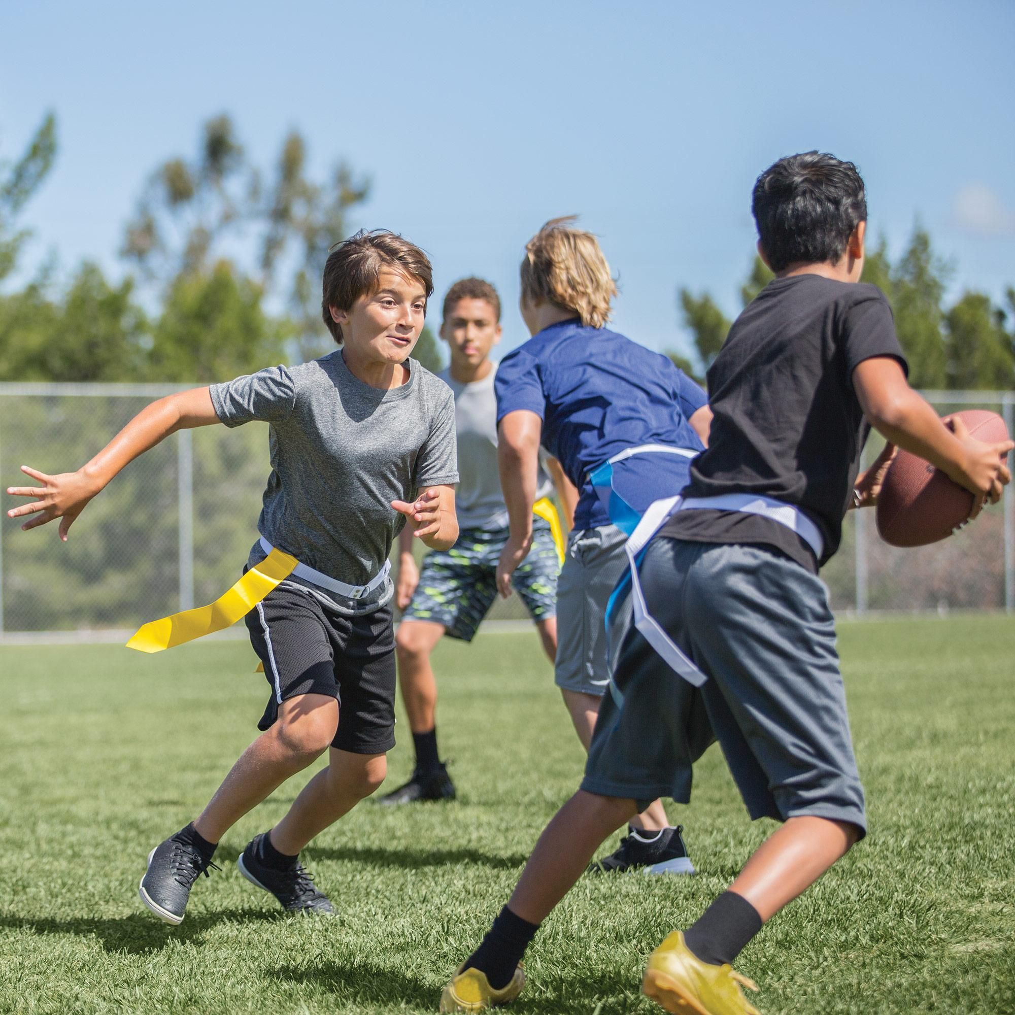 SKLZ 10-Man Flag Football Deluxe Set W/Flags and Cones ...
