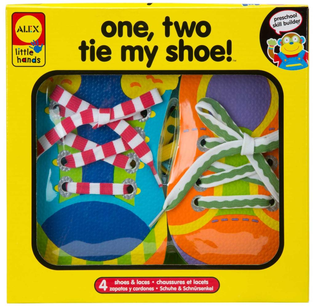 Amazon alex toys little hands one two tie my shoe toys games view larger ccuart Choice Image