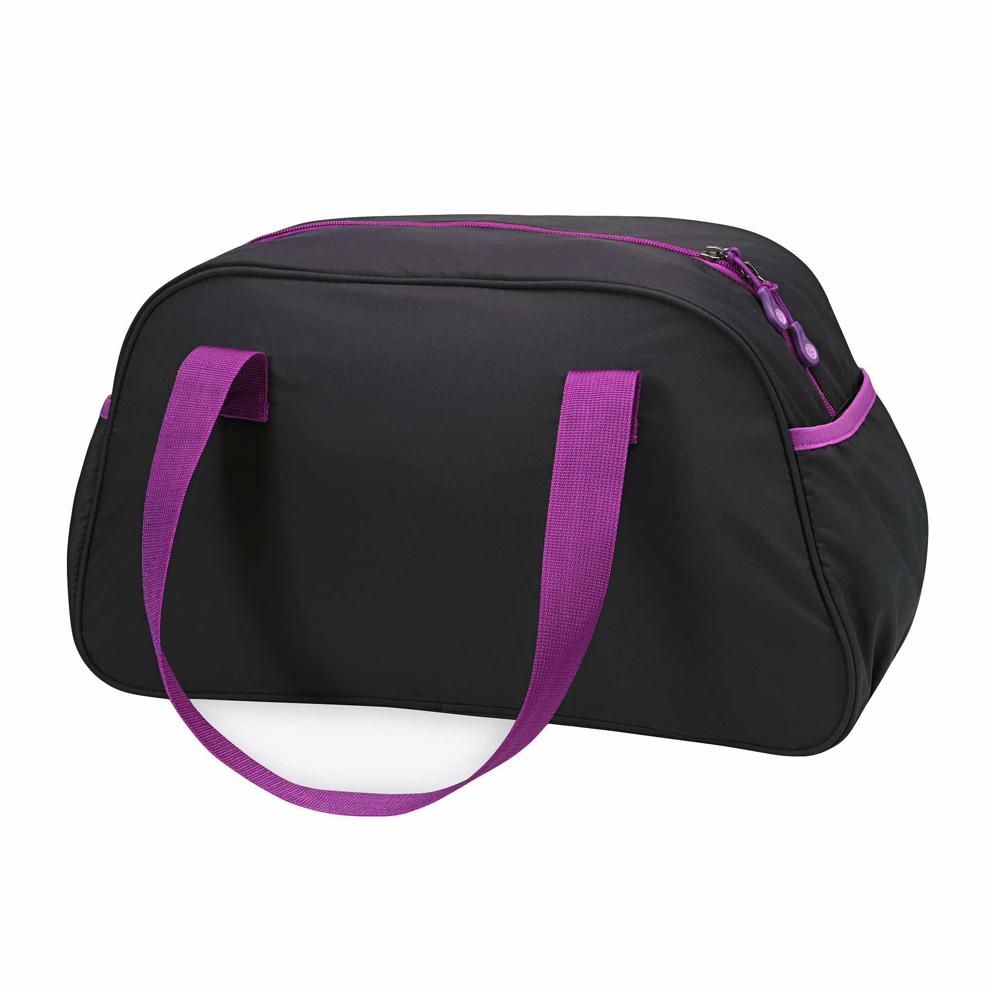 Amazon.com : Gaiam Duffle Yoga Mat Bag, Black/Grey