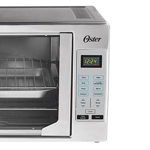 oster french door model controls and cooking function