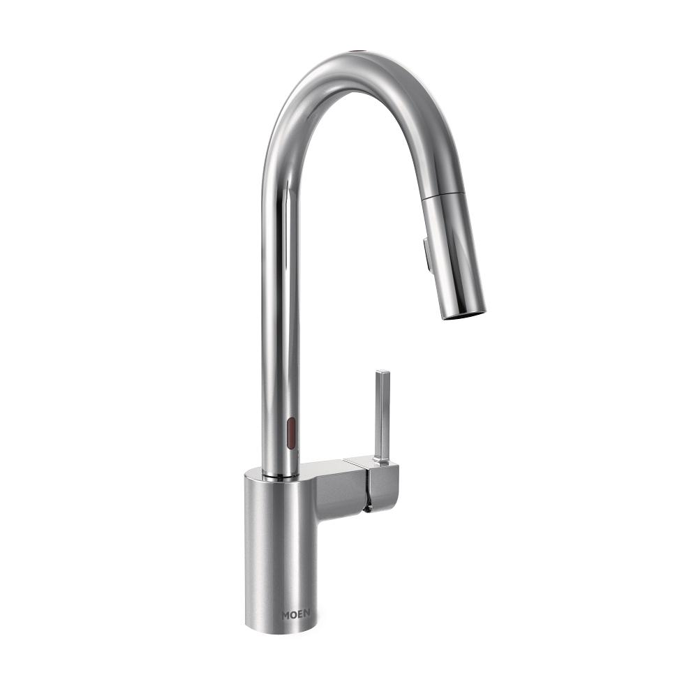 Moen 7565EC Align with Motionsense Two-Sensor Touchless One-Handle ...