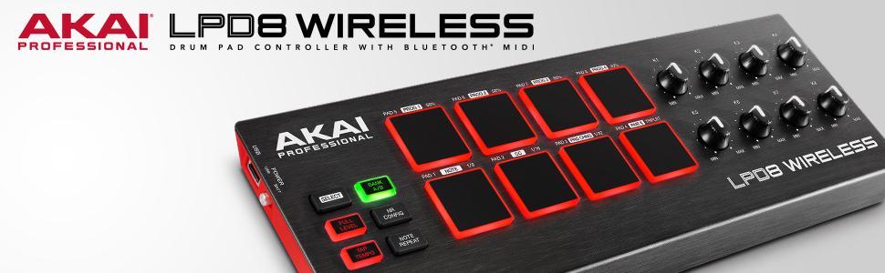 Akai Professional Lpd8 : akai professional lpd8 wireless bluetooth usb drum midi controller for ios pc ~ Hamham.info Haus und Dekorationen