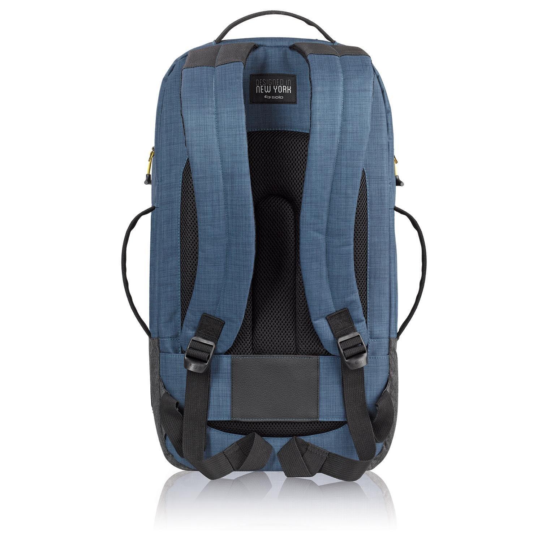 Amazon.com   Solo Weekender Backpack Duffel, Blue/Grey