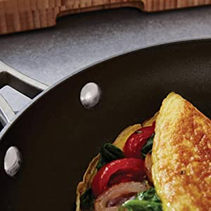 Calphalon Classic Nonstick 10-Inch Fry Pan with Cover - Dual Layer Nonstick