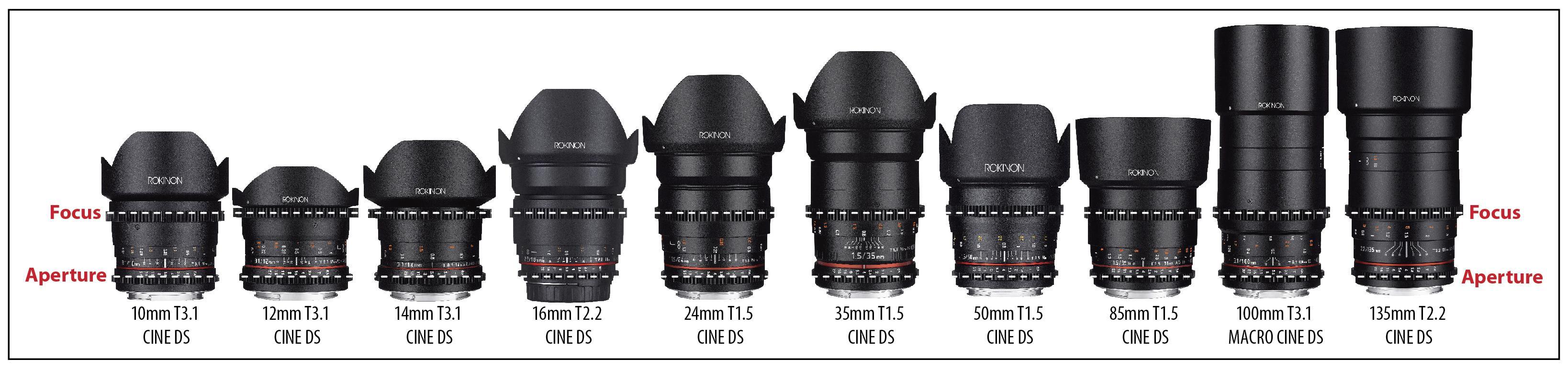 Buy Rokinon Cine DS 12mm T3 1 Ultra Wide Cine Fisheye Lens for Nikon